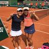 全仏オープンテニス 女子ダブルスベスト4-サムネイル