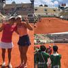 全仏オープンテニス 女子ダブルス 決勝進出!-サムネイル