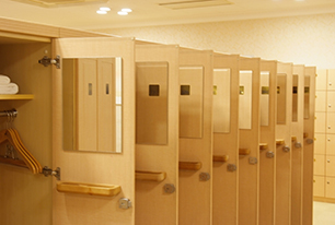Women's Changing room写真