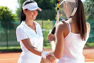 はじめてテニス!