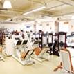 広々としたジムでトレーニング。運動不足を解消!写真